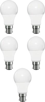 Arika-5W-Round-LED-Light-Bulb-(White,-Pack-of-5)