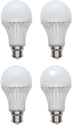 Kalash-Gold-5W-Plastic-Body-Warm-White-LED-Bulb-(Pack-Of-4)