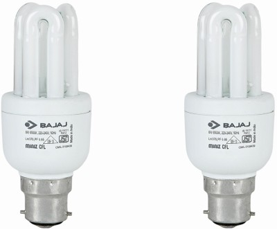 Ecolux-3U-CDL-8W-CFL-Bulb-(Pack-of-4)