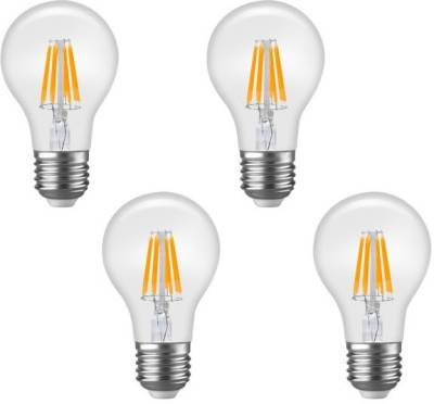 Imperial-DYP01-6W-E27-LED-Filament-Bulb-(Yellow,-Pack-Of-4)