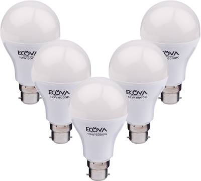 Ecova-12-W-LED-Bulb-(White,-Pack-of-5)