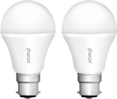 Pharox-Apollo-7W-B22-Led-Bulb-(Cool-White,-Set-Of-2)