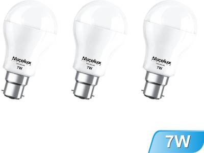 7W-B22-White-Led-Bulb-(Set-Of-3)