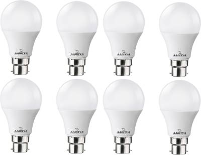 Aaditya 5W High Power LED Bulb (White, Pack of 8) Image