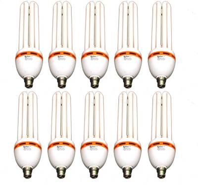 Rashmi 45 W 4U Lamp B22 Cap CFL Bulb (Cool Day Light, Pack of 10) Image