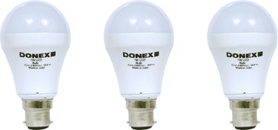7W-Aluminium-Body-White-LED-Bulb-(Pack-of-3)