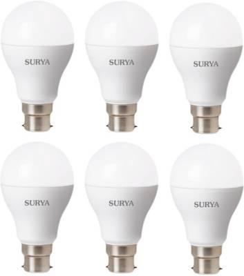 B23D21-7W-B22-White-LED-Bulb-(Plastic,-Pack-of-6)