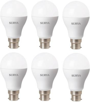 Surya 12W White 1260 Lumens LED Bulbs (Pack Of 6) Image