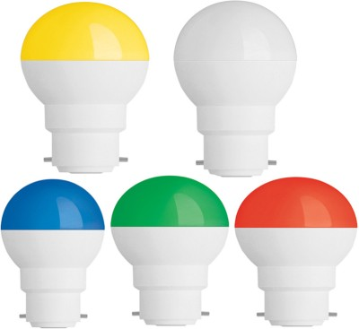 0.5W-Led-Candel-Night-White-Lamp-Round-(Multicolor,-Pack-of-10)