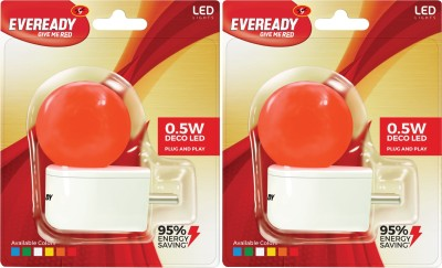 0.5W-Plug-and-Play-Red-Deco-LED-Bulb-(Pack-of-2)-
