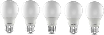 Wipro 12W E27 LED Bulb (Cool Day light, Pack Of 5) Image