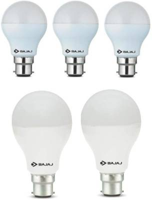 7-W,-12-W-LED-Bulb-B22-White-(pack-of-5)