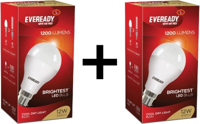 Eveready-12-W-LED-Bulb-White-(pack-of-2)