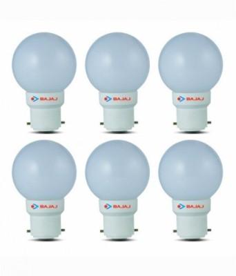 Bajaj-0.5W-White-LED-Bulb(Pack-Of-6)