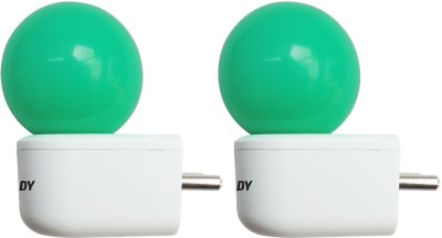 Eveready-0.5W-Plug-and-Play-Green-Deco-LED-Bulb-(Pack-of-2)