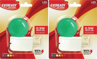 0.5W-Plug-and-Play-Green-Deco-LED-Bulb-(Pack-of-2)-