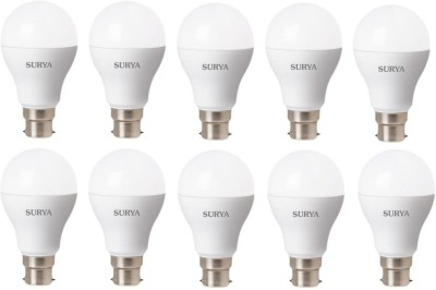Surya-B23D-12-W-1260Lumen-LED-Bulb-(White,-Pack-of-10)