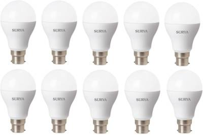 Surya 3W White 270 Lumens LED Bulbs (Pack Of 10) Image