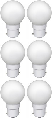 Ornate-0.5W-LED-Bulb-(White,-Pack-of-6)