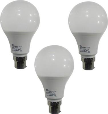 9-W-Plastic-B-22-LED-Bulbs-(Cool-Day-Light,-Pack-of-3)