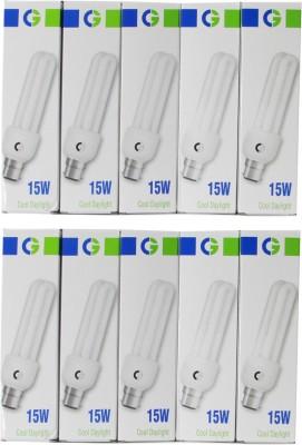 Crompton-Greaves-15-W-2U-CFL-Bulb-(Cool-Daylight,-Pack-of-10)