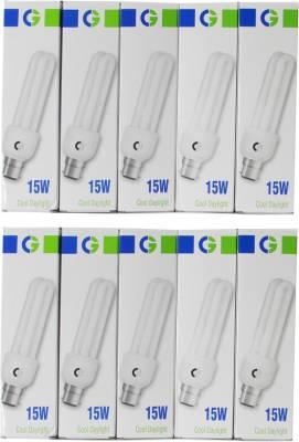 Greaves-15-W-2U-CFL-Bulb-(Cool-Daylight,-Pack-of-10)-