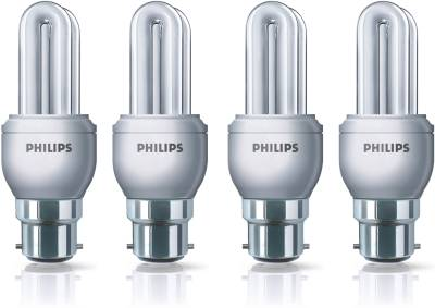 Philips Genei 8 W CFL Bulb (Cool Day Light, Pack of 4) Image