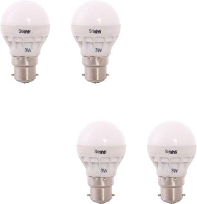 3-W-B22-LED-Bulb-(White,-Blue,-Pack-of-4)