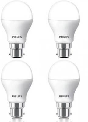Philips-7W-B22-600L-LED-Bulb-(White,-Pack-Of-4)