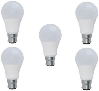 7-W-B22-LED-Bulb-(yellow,-Pack-of-5)