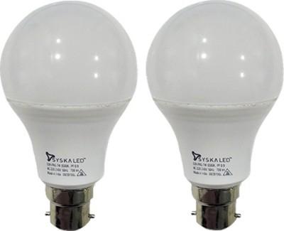 Syska-7-W-B22-PAG-LED-Bulb-(White,-Plastic,-pack-of-2)