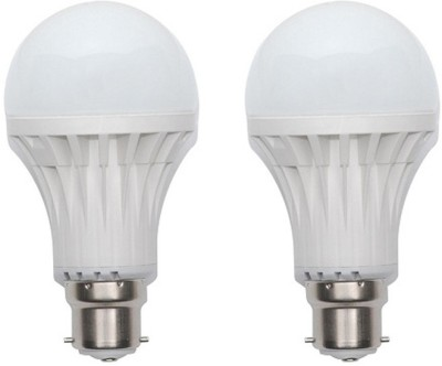 Harit-Energy-3W-B22-LED-Bulb-(White,-Set-of-2)