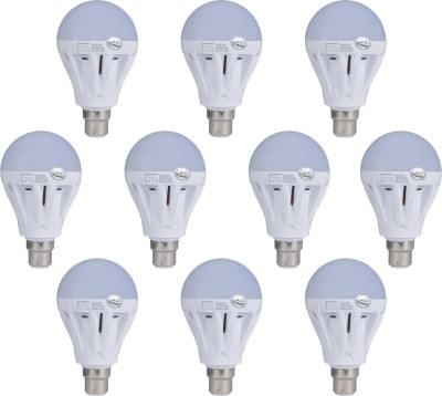Lite-7W-B22-LED-Bulb-(White,-Set-of-10)