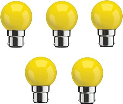 0.5W-Yellow-LED-Bulbs-(Pack-Of-5)-
