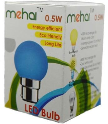 Mehai-0.5-W-LED-Night-Lamp-Bulb-B22-multi-color-(pack-of-5)
