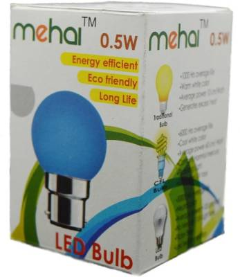 0.5-W-LED-Night-Lamp-Bulb-B22-multi-color-(pack-of-5)