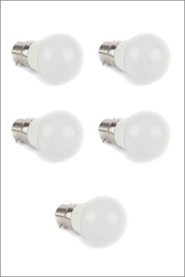 Ariva-3W-LED-Bulb-(White,-Pack-of-5)