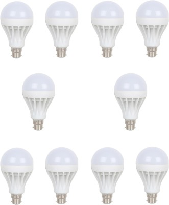Earton-7W-B22-LED-Bulb-(White,-Set-of-10)