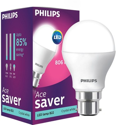 Philips-Ace-Saver-9W-LED-Bulb-(Crystal-White)