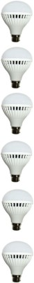 N-Safe-7W-White-LED-Bulbs-(Pack-Of-6)-