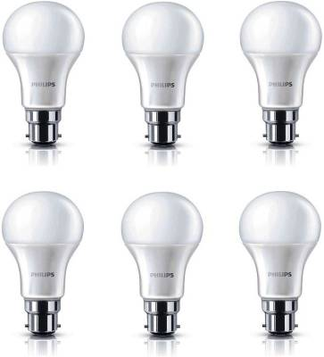 13-W-B22-6500K-LED-Bulb-White-(pack-of-6)