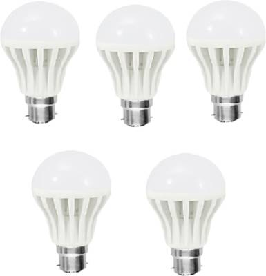 Happy Power 12W B22 1080L LED Bulb (White, Pack Of 10) Image