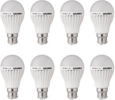 Feltron 5W LED Bulbs (Cool White, Pack of 8) Image