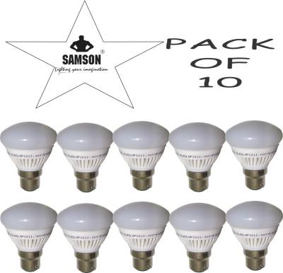 Samson-7W-B22-630L-LED-Bulb-(Warm-White,-Pack-Of-10)