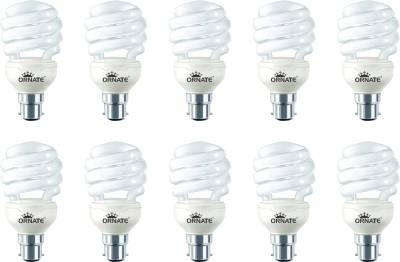 Ornate 23 W Spiral CFL Bulb (White, Pack of 10) Image