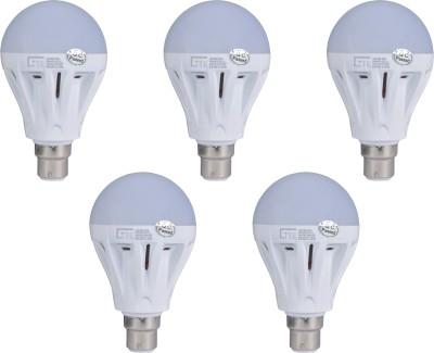 Lite-7W-B22-LED-Bulb-(White,-Set-of-5)
