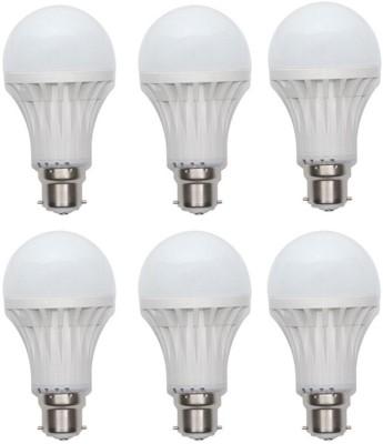 Ace-7-W-LED-Bulb-(White,-Pack-of-6)