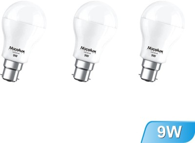 Micolux-Lighting-9W-Cool-Day-Light-LED-Bulb-(pack-of-3)