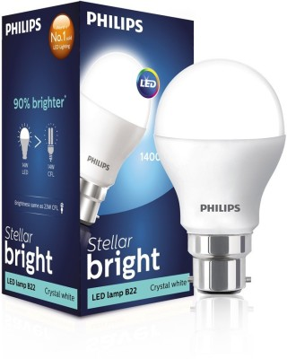 Philips-10-W-LED-Energy-Saver-Bulb-B22-White