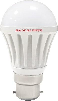 Infiniti-Eco-7W-B22-LED-Bulb-(Warm-White,-Pack-of-3)